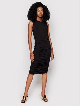 DKNY DKNY Každodenné šaty DD1CL708 Čierna Regular Fit