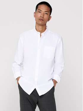 Only & Sons ONLY & SONS Chemise Alvaro Life 22006479 Blanc Slim Fit