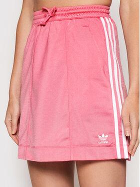 adidas adidas Mini suknja adicolor Classics Tricot H37775 Ružičasta Regular Fit