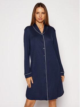 Hanro Hanro Naktiniai marškiniai Natural Comfort 7964 Tamsiai mėlyna