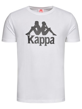 Kappa Kappa T-Shirt Caspar 303910 Bílá Regular Fit