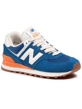New Balance New Balance Sneakersy WL574VA2 Niebieski