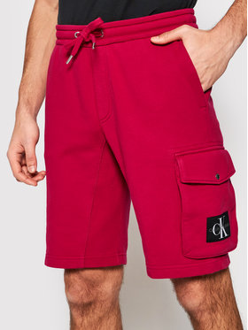 Calvin Klein Jeans Calvin Klein Jeans Pantaloncini sportivi J30J314676 Rosa Regular Fit