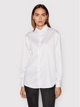 Guess Guess Koszula Agnese W1YH90 WE0S0 Biały Regular Fit