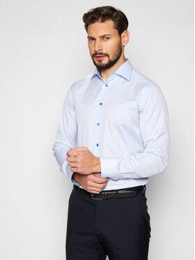 Eton Eton Marškiniai 10000305522 Mėlyna Slim Fit