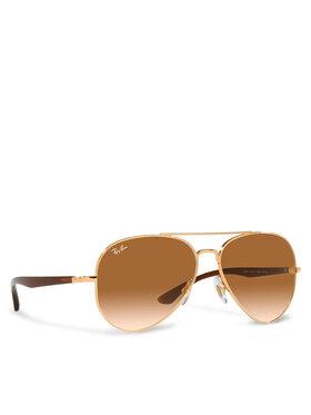 Ray-Ban Ray-Ban Okulary przeciwsłoneczne 0RB3675 001/51 Złoty