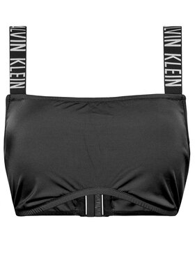 Calvin Klein Swimwear Calvin Klein Swimwear Верх від купальника Bandeau Plus KW0KW01390 Чорний