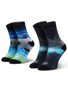 Cristiano Ronaldo CR7 Cristiano Ronaldo CR7 Комплект 2 чифта дълги чорапи мъжки 8471-82-103 Черен