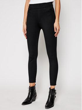 SPANX SPANX Bavlnené nohavice The Perfect 20251R Čierna Skinny Fit