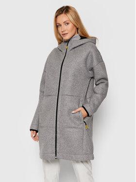 CMP CMP Vlnený kabát 31M3076 Sivá Regular Fit