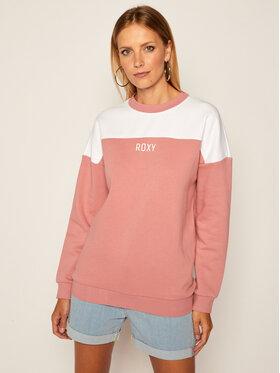 Roxy Roxy Džemperis For The First Time ERJFT04269 Rožinė Loose Fit