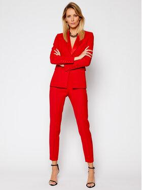 Rage Age Rage Age Ensemble blazer et pantalon en tissu Lakshmi 2 Rouge Regular Fit