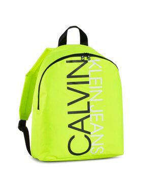 Calvin Klein Jeans Calvin Klein Jeans Раница Institutional Logo Backpack IU0IU00137 Жълт