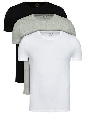Polo Ralph Lauren Polo Ralph Lauren Set od 3 para majica 714830304002 Šarena Regular Fit