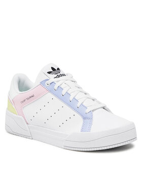 adidas adidas Pantofi Court Tourino J H00769 Alb