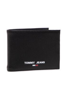 Tommy Hilfiger Tommy Hilfiger Голям мъжки портфейл Tjm Essential Cc And Coin AM0AM07925 Черен