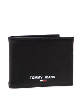 Tommy Hilfiger Tommy Hilfiger Portefeuille homme grand format Tjm Essential Cc And Coin AM0AM07925 Noir