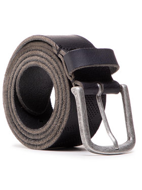 Pepe Jeans Pepe Jeans Pánsky opasok Clover Belt PM020975 Čierna