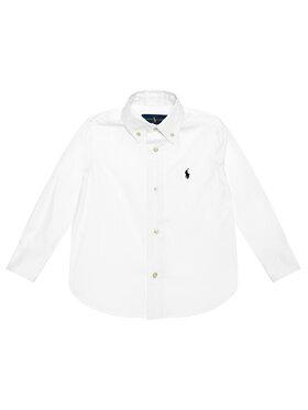 Polo Ralph Lauren Polo Ralph Lauren Marškiniai 321819238001 Balta Slim Fit