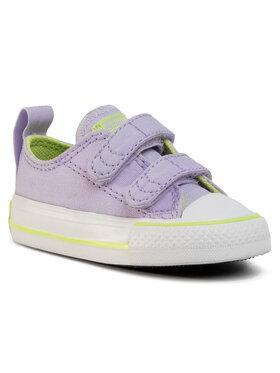 Converse Converse Sneakers Ctas 2V Ox 767792C Μωβ