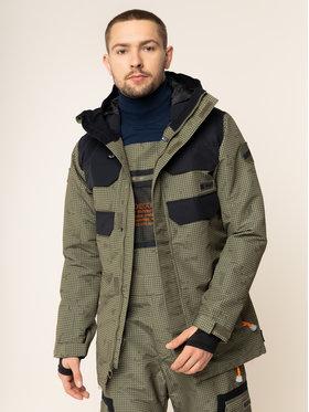 DC Snowboardová bunda Haven EDYTJ03096 Zelená Tailored Fit