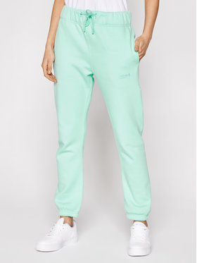 Sprandi Sprandi Spodnie dresowe SS21-SPD005 Zielony Regular Fit