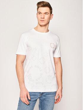 Boss Boss Marškinėliai Tee 10 50425689 Balta Regular Fit
