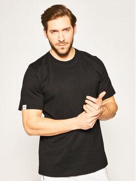 MSGM MSGM T-Shirt 2840MM239 207098 Czarny Regular Fit