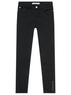 Calvin Klein Jeans Calvin Klein Jeans Džínsy Clean Black Strech IG0IG01206 Čierna Skinny Fit