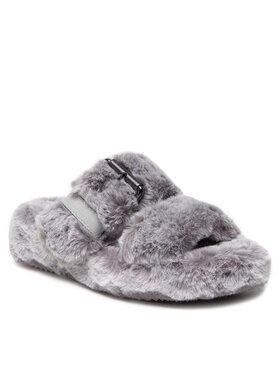 Skechers Skechers Šľapky Cozy Wedge 167238/GRY Sivá