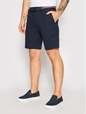 Tommy Hilfiger Tommy Hilfiger Short en tissu Brooklyn MW0MW18828 Bleu marine Slim Fit