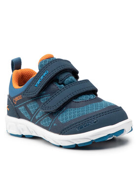 Viking Viking Sneakersy Veme Vel Gtx GORE-TEX 3-47300-574 Tmavomodrá