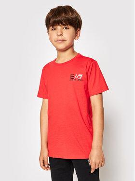 EA7 Emporio Armani EA7 Emporio Armani T-shirt 3KBT51 BJ02Z 1485 Rouge Regular Fit