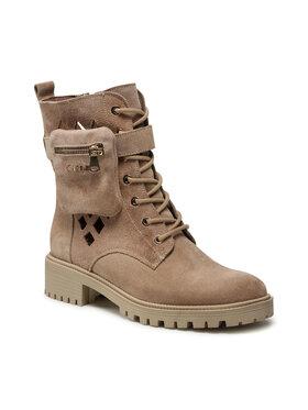 Carinii Carinii Outdoorová obuv B5755 Béžová