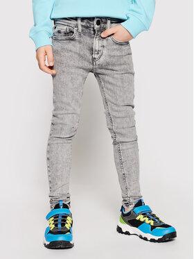 Calvin Klein Jeans Calvin Klein Jeans Jeansy IB0IB00743 Šedá Super Skinny Fit