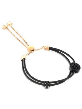 Tory Burch Tory Burch Narukvica Kira Powder Coated Slider Bracelet 83505 Crna