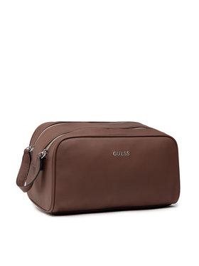 Guess Guess Kosmetický kufřík Riviera HMRIVI P1342 Hnědá