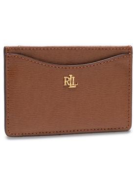 Lauren Ralph Lauren Lauren Ralph Lauren Kreditkartenetui Slim Card Cs 432787761002 Braun