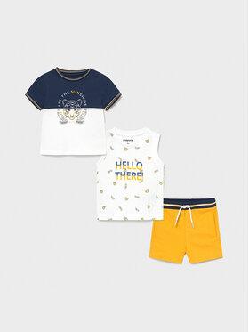 Mayoral Mayoral Set T-Shirt, Top und Shorts 1668 Bunt Regular Fit