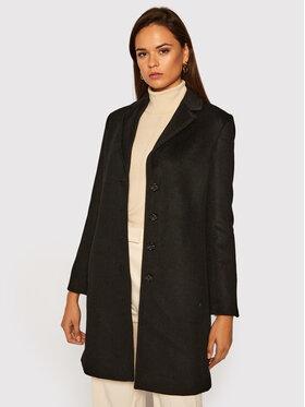 Pennyblack Pennyblack Gyapjú kabát Outfit 20140320 Fekete Regular Fit