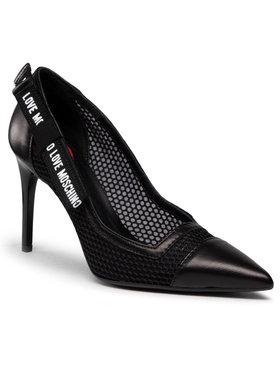 LOVE MOSCHINO LOVE MOSCHINO Pantofi cu toc subțire JA10119G1CITV000 Negru