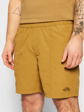 The North Face The North Face Szorty materiałowe Class V Pull On NF0A48TK Zielony Regular Fit
