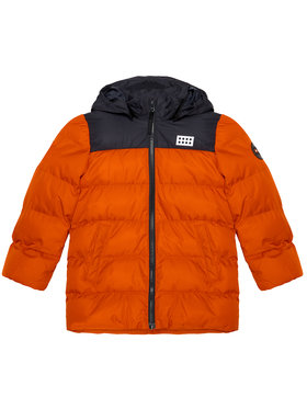 LEGO Wear LEGO Wear Vatovaná bunda LwJoshua 709 22895 Oranžová Regular Fit