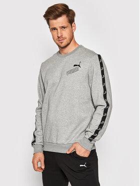 Puma Puma Sweatshirt Amplified Crew 583513 Grau Regular Fit