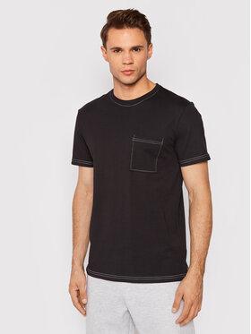 Outhorn Outhorn T-Shirt TSM617 Czarny Regular Fit