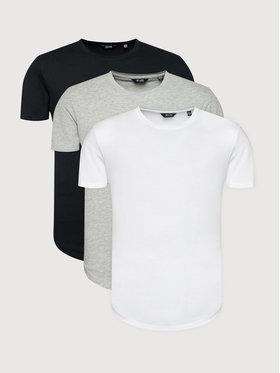 Only & Sons Only & Sons Súprava 3 tričiek Matt 22013782 Farebná Regular Fit