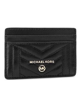 MICHAEL Michael Kors MICHAEL Michael Kors Kreditinių kortelių dėklas Jet Set Charm 34S0GT9D1L Juoda