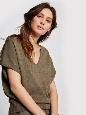 Morgan Morgan Sweater 211-MATCHA Zöld Regular Fit