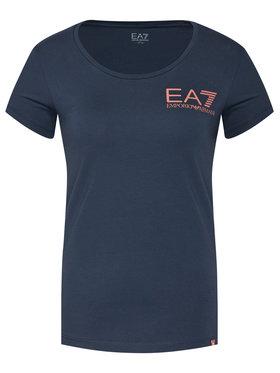 EA7 Emporio Armani EA7 Emporio Armani T-Shirt 6HTT13 TJ29Z 1543 Σκούρο μπλε Regular Fit