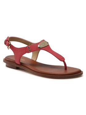 MICHAEL Michael Kors MICHAEL Michael Kors Sandále Mk Plate Thong 40U2MKFA1L Ružová